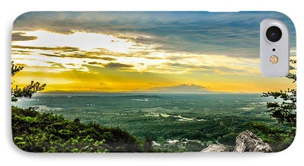 Beautiful Scenery From Crowders Mountain In North Carolina IPhone Case by Alex Grichenko