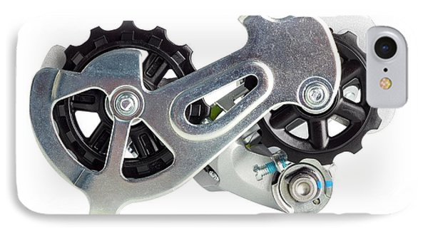 Bicycle Derailleur IPhone Case by Science Photo Library