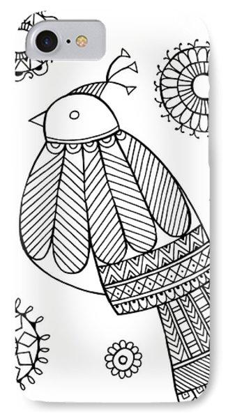 Bird Dove IPhone 7 Case by Neeti Goswami