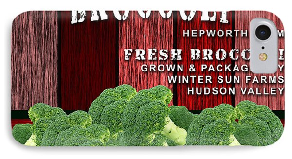 Broccoli Farm IPhone Case by Marvin Blaine