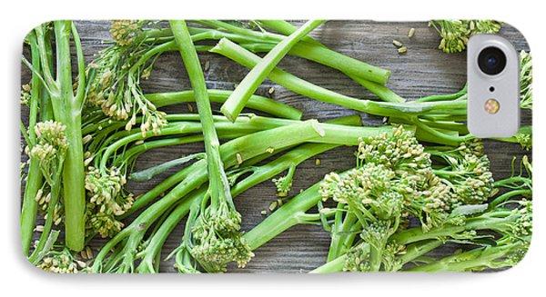 Broccoli Stems IPhone 7 Case by Tom Gowanlock