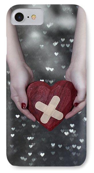 Broken Heart IPhone Case by Joana Kruse