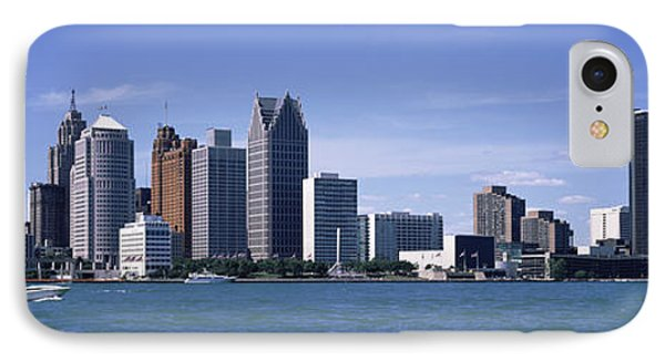 Buildings At The Waterfront, Detroit IPhone Case by Panoramic Images