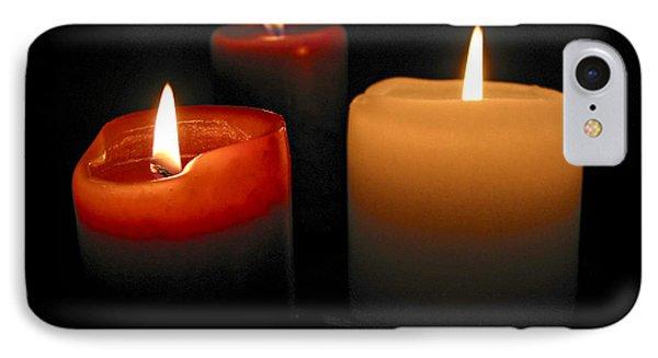 Burning Candles IPhone Case by Elena Elisseeva