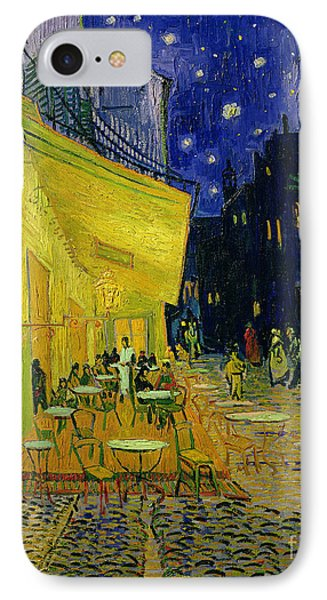 Cafe Terrace Arles Phone Case by Vincent van Gogh