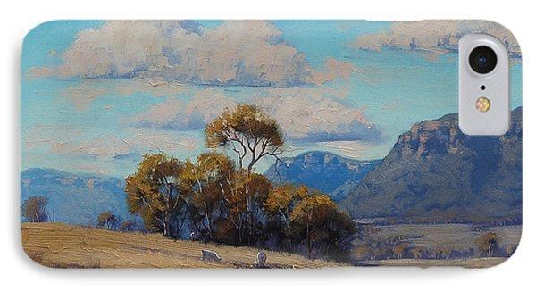 Capertee Valley Australia IPhone Case by Graham Gercken