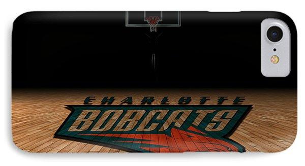 Charlotte Bobcats IPhone Case by Joe Hamilton