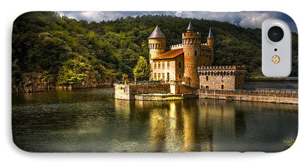 Chateau De La Roche IPhone Case by Debra and Dave Vanderlaan