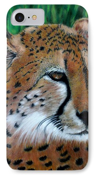 Cheetah IPhone 7 Case by Carol McCarty