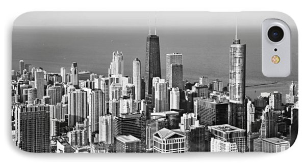 Chicago - That Famous Skyline Phone Case by Christine Till