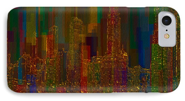 Cityscape 5 Phone Case by Jack Zulli