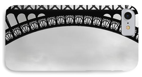 Close Up Of Eiffel Tower, Paris, France IPhone Case by Panoramic Images