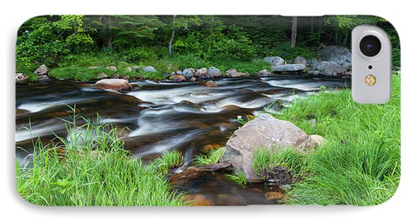 Cold Stream In Maine's Northern Forest IPhone Case by Jerry and Marcy Monkman