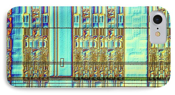 Computer Memory Chip IPhone Case by Alfred Pasieka