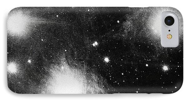 Constellation Of Pleiades IPhone Case by Universal History Archive/uig