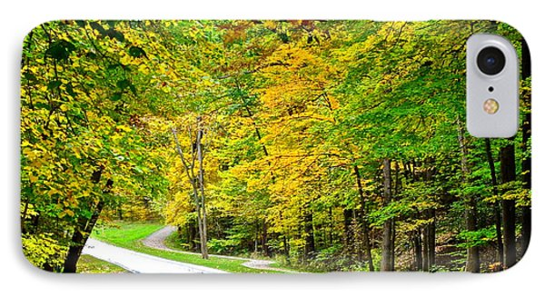 Country Road IPhone Case by Frozen in Time Fine Art Photography