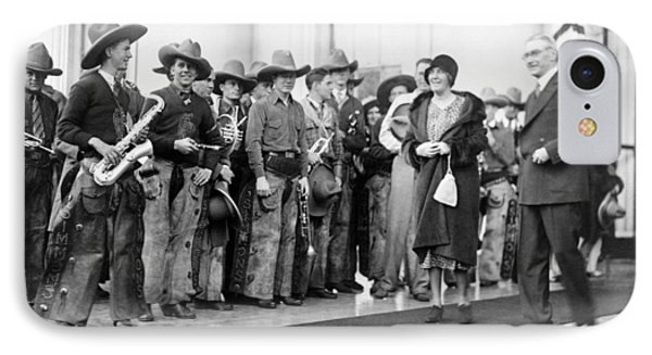 Cowboy Band, 1929 IPhone 7 Case by Granger