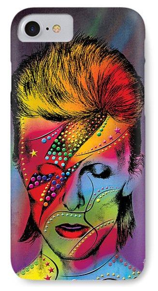 David Bowie IPhone Case by Mark Ashkenazi