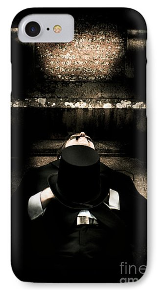 Deceased Man In Repose IPhone Case by Jorgo Photography - Wall Art Gallery