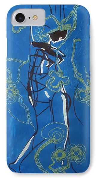 Dinka Painted Lady - South Sudan IPhone Case by Gloria Ssali
