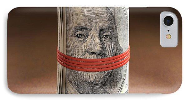 Dollar Bills Rolled Up IPhone Case by Ktsdesign