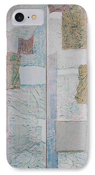 Double Doors Of Unfinished Projects In Blue  Phone Case by Asha Carolyn Young