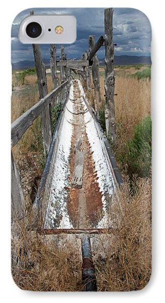 Dried-up Spring IPhone Case by Jim West