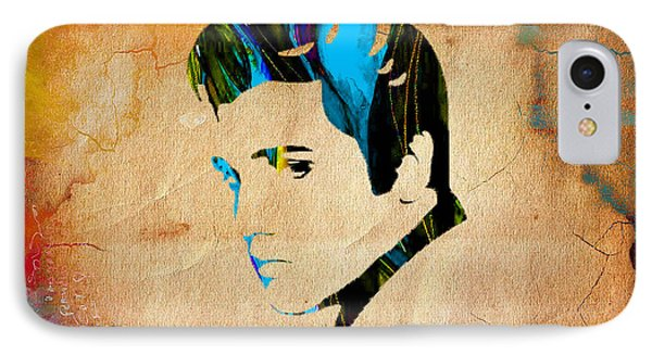 Elvis Presly Wall Art IPhone Case by Marvin Blaine