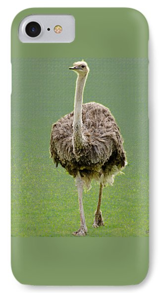 Emu IPhone 7 Case by Ellen Henneke