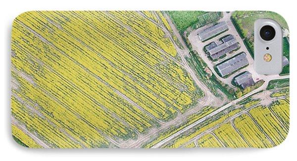 English Farm Phone Case by Tom Gowanlock