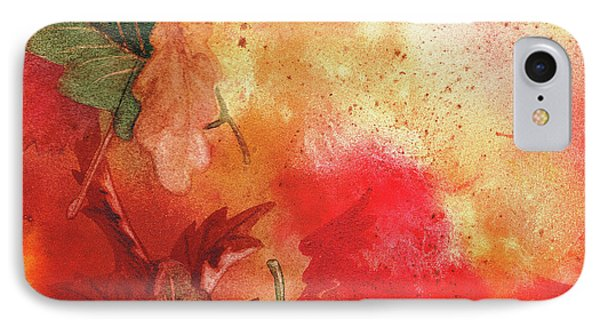 Fall Impressions  IPhone Case by Irina Sztukowski
