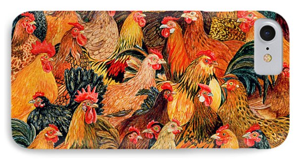 Fine Fowl IPhone Case by Ditz