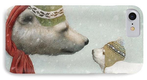 First Winter IPhone Case by Eric Fan