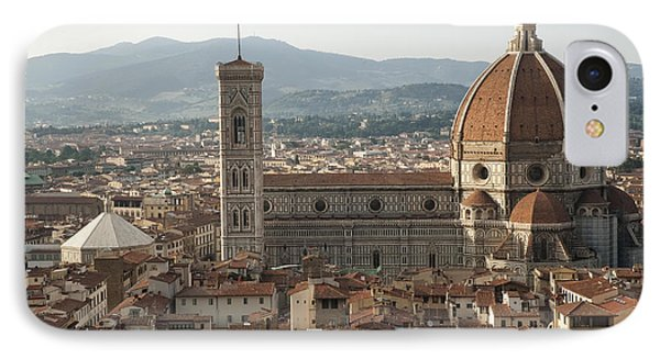 Florence Cathedral And Brunelleschi's Dome Phone Case by Melany Sarafis