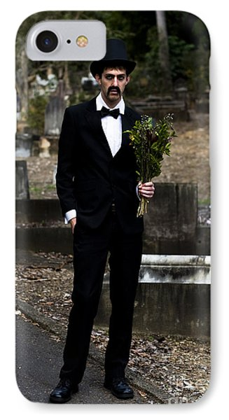 Funeral Attendee IPhone Case by Jorgo Photography - Wall Art Gallery