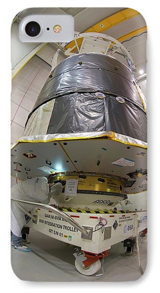 Gaia Space Probe Testing IPhone Case by S Corvaja/european Space Agency