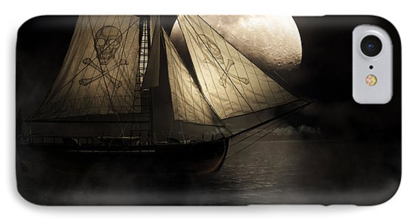 Ghost Ship IPhone Case by Jorgo Photography - Wall Art Gallery