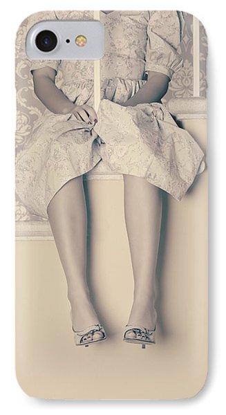 Girl On Steps Phone Case by Joana Kruse