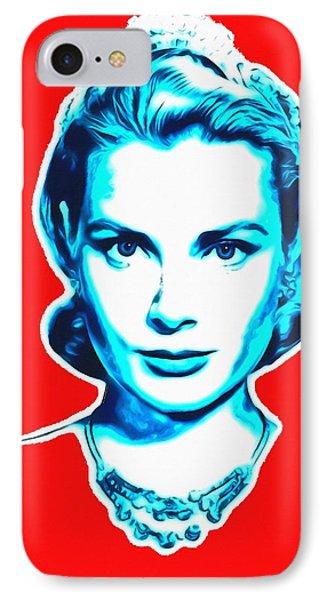 Grace Kelly IPhone Case by Art Cinema Gallery
