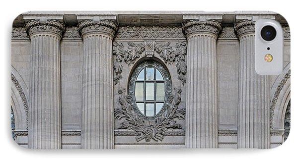 Grand Central Terminal Facade  IPhone Case by Susan Candelario