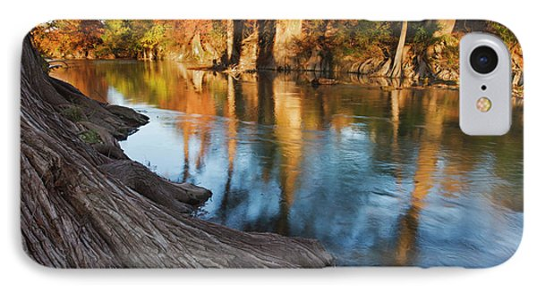 Guadalupe River, Texas Hill Country IPhone Case by Larry Ditto