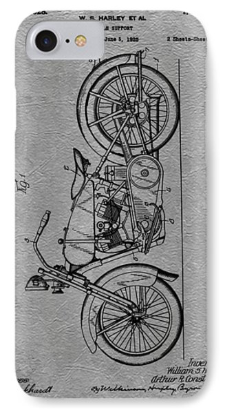 Harley Patent Phone Case by Dan Sproul