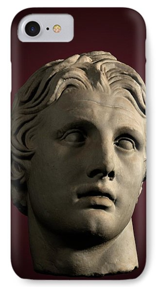 Head Of Alexander The Great IPhone Case by David Parker
