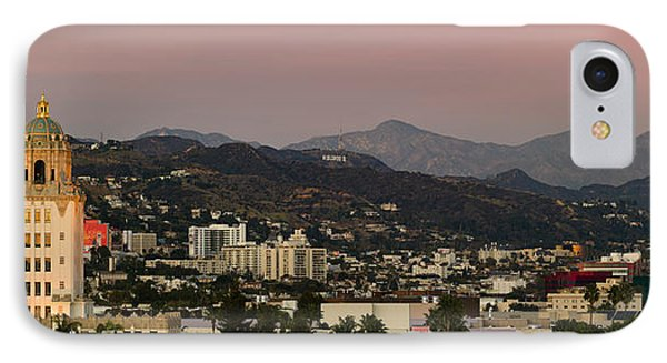 High Angle View Of A City, Beverly IPhone 7 Case by Panoramic Images