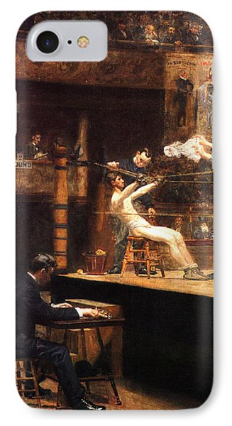 In The Mid Time IPhone Case by Thomas Eakins