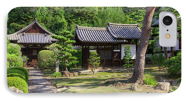 Japan, Nara Grounds Of The Shingon-in IPhone Case by Jaynes Gallery