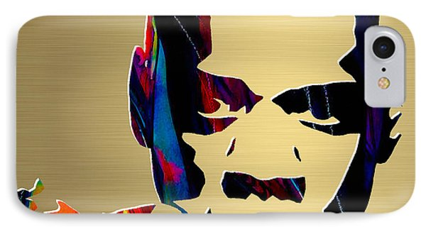 Jay Z Gold Series IPhone Case by Marvin Blaine