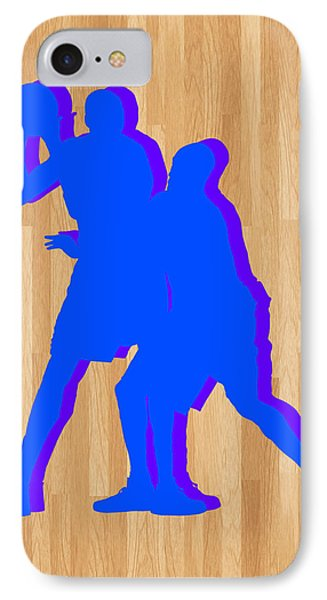 Kevin Durant Kobe Bryant IPhone Case by Joe Hamilton