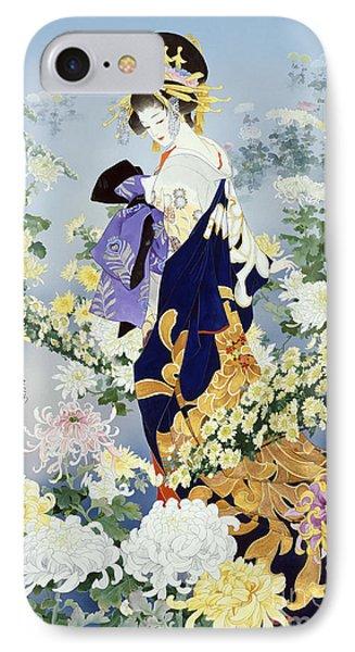 Kiku IPhone Case by Haruyo Morita