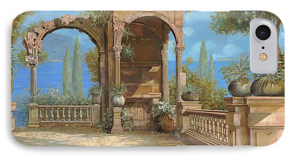 La Terrazza Sul Lago IPhone Case by Guido Borelli